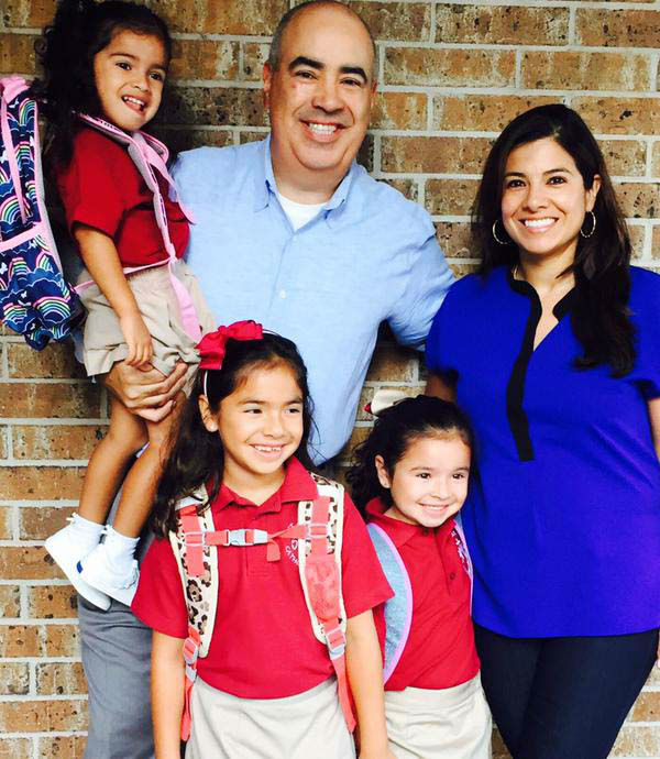 """<div class=""""meta image-caption""""><div class=""""origin-logo origin-image none""""><span>none</span></div><span class=""""caption-text"""">Patricia Lopez and her family on their first day of school (KTRK Photo)</span></div>"""