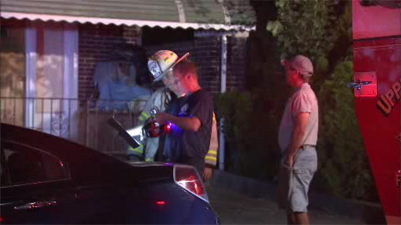 Blaze damages house in Upper Darby