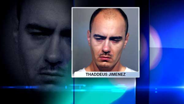 Thaddeus Jimenez, 36, was charged in a shooting in Chicago's Albany Park neighborhood.