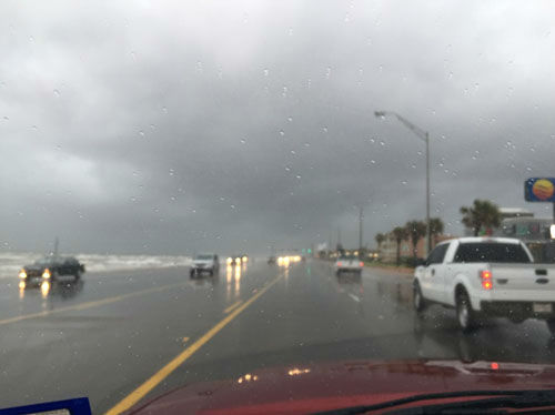 "<div class=""meta image-caption""><div class=""origin-logo origin-image none""><span>none</span></div><span class=""caption-text"">The rain hitting the Galveston area this afternoon. (Photo/iWitness Photo)</span></div>"