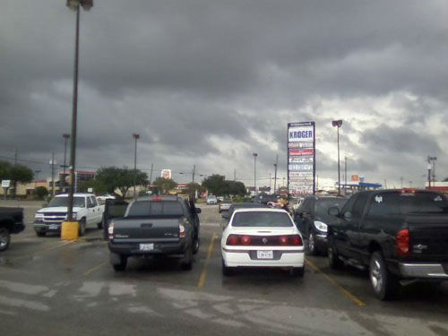 "<div class=""meta image-caption""><div class=""origin-logo origin-image none""><span>none</span></div><span class=""caption-text"">Look at the skies in the Baytown area (Photo/iWitness Photo)</span></div>"