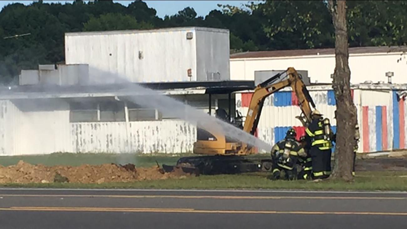 Gas leak reported in Smithfield