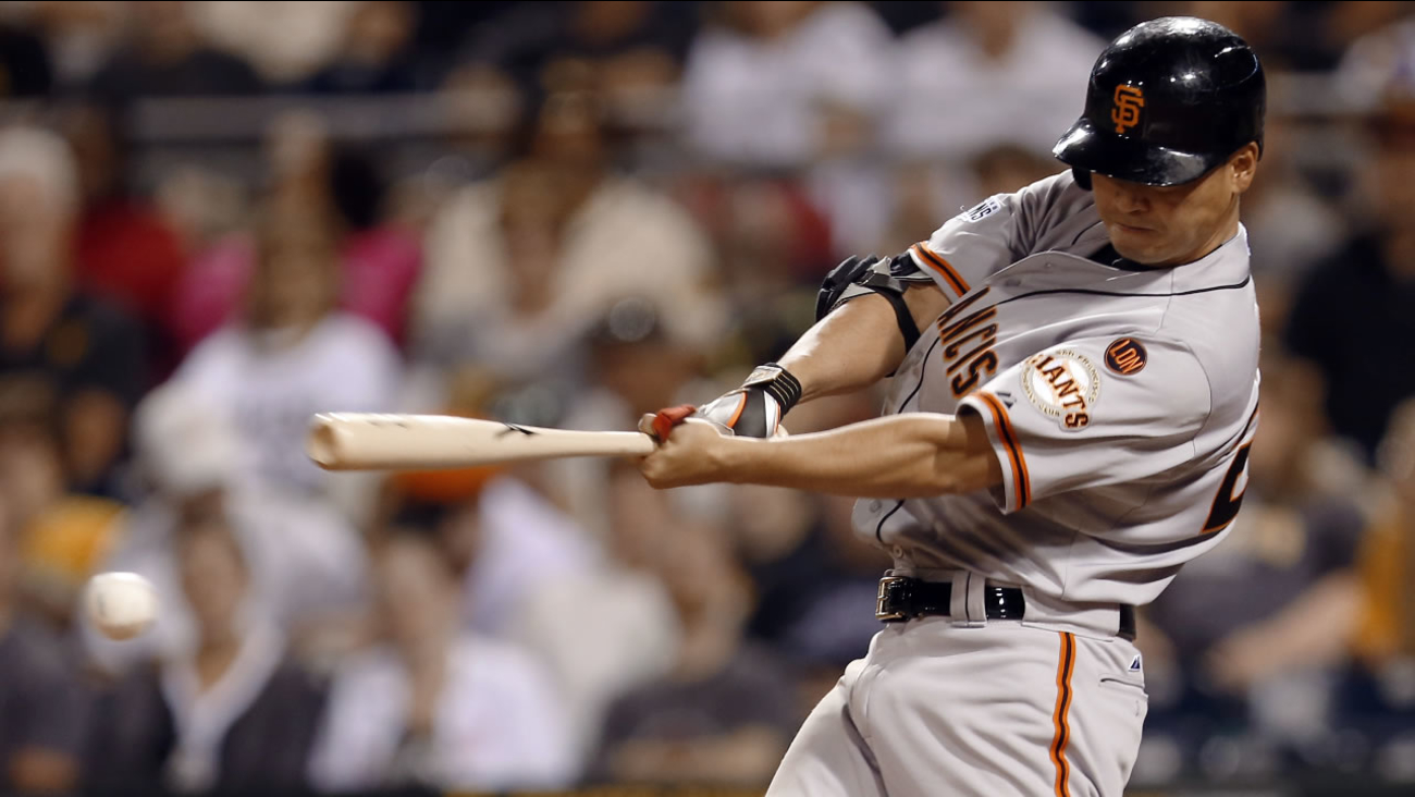 San Francisco Giants' Nori Aoki