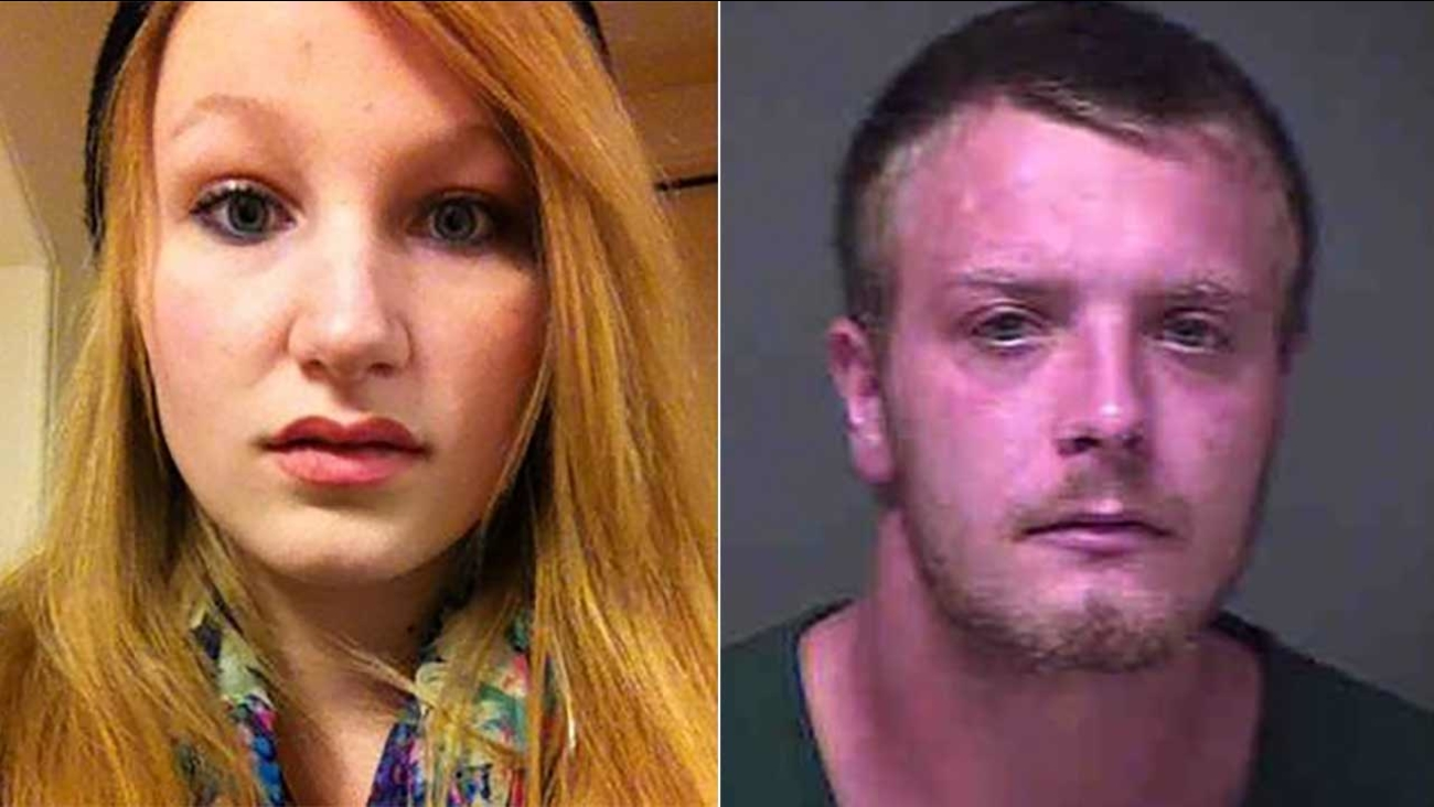 (L) Chelsea O'Donnell, 17, is seen in this file photo. (R) Steven Sheerer, 25, was arrested for child endangerment and distribution of obscenity to a minor.