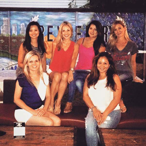 """<div class=""""meta image-caption""""><div class=""""origin-logo origin-image none""""><span>none</span></div><span class=""""caption-text"""">Katherine Whaley and the girls in her fantasy football league (KTRK Photo)</span></div>"""