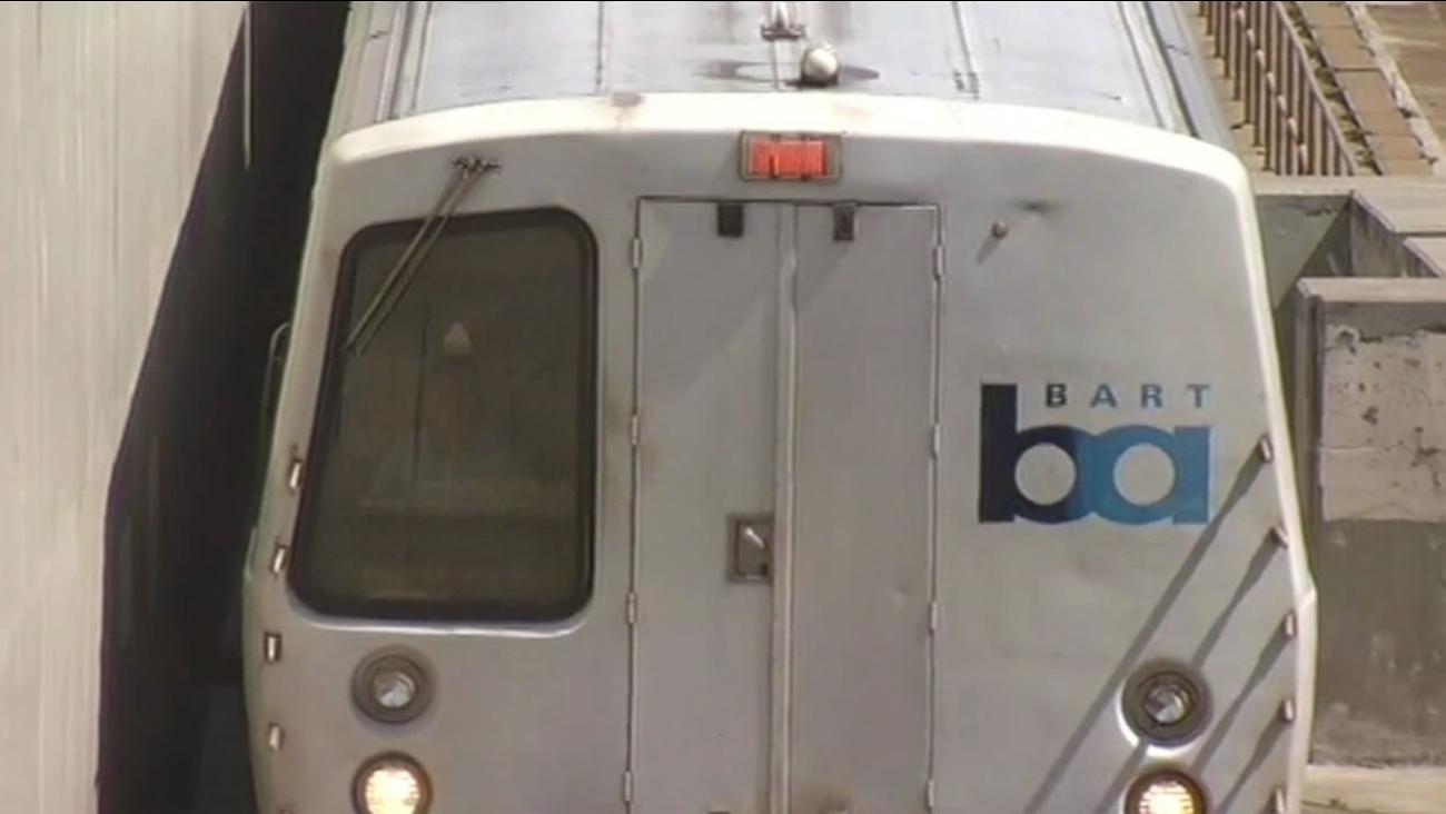 BART train