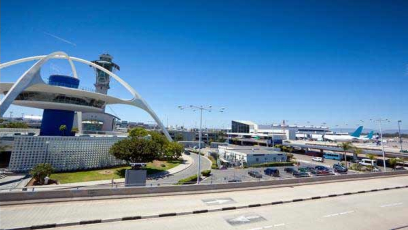 The Los Angeles International Airport is seen in this undated file photo.