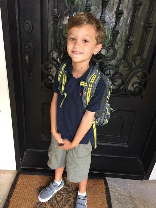 "<div class=""meta image-caption""><div class=""origin-logo origin-image none""><span>none</span></div><span class=""caption-text"">Ilona Carson's son is ready for kindergarten! (KTRK Photo)</span></div>"