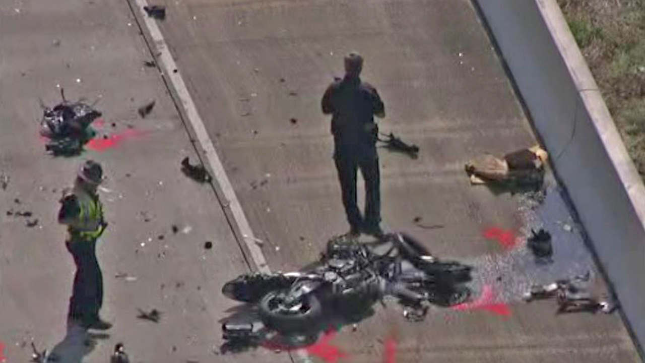 Deadly motorcycle crash