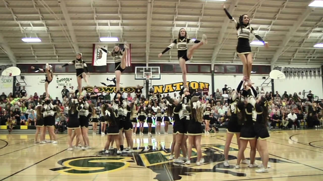 California state lawmakers have sent a bill to Governor Brown's desk that would recognize cheerleading as an official high school sport.