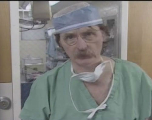 """<div class=""""meta image-caption""""><div class=""""origin-logo origin-image none""""><span>none</span></div><span class=""""caption-text"""">Trauma surgeon Dr. James """"Red"""" Duke has been in the public spotlight for decades. The 86-year-old died Tuesday. (ABC Photo)</span></div>"""