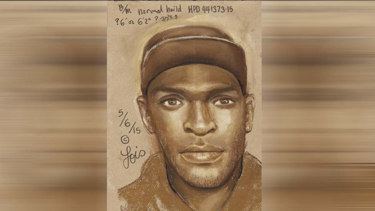 Composite sketch of suspect wanted in fatal shooting