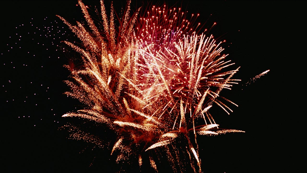 File image of a fireworks display.