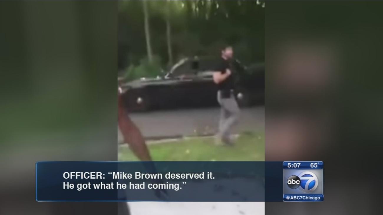Police investigate Michael Brown comment