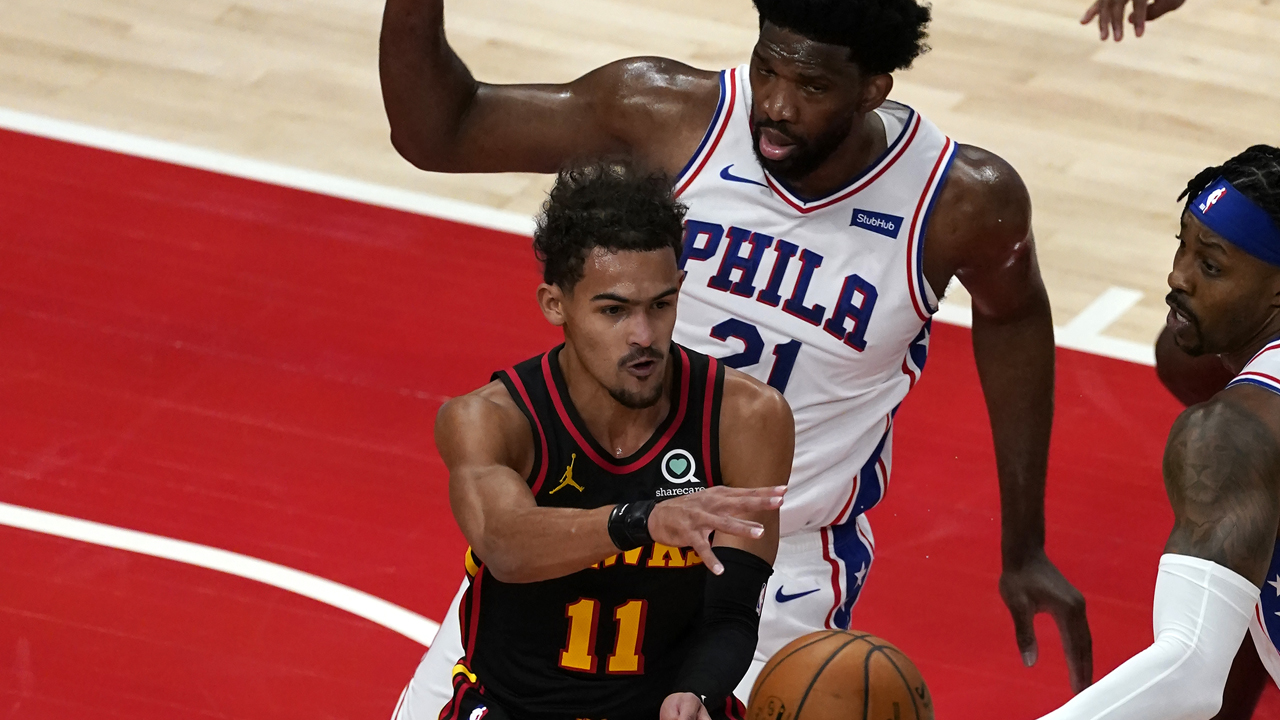 Trae Young's 26 points lead Atlanta Hawks past short-handed Philadelphia  76ers, 112-94 - 6abc Philadelphia