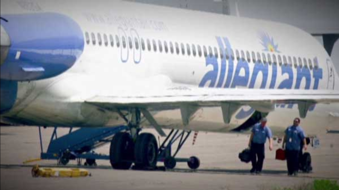 Allegiant Airlines is inspecting all the planes in its fleet after a flight headed to Illinois ran into trouble during takeoff.