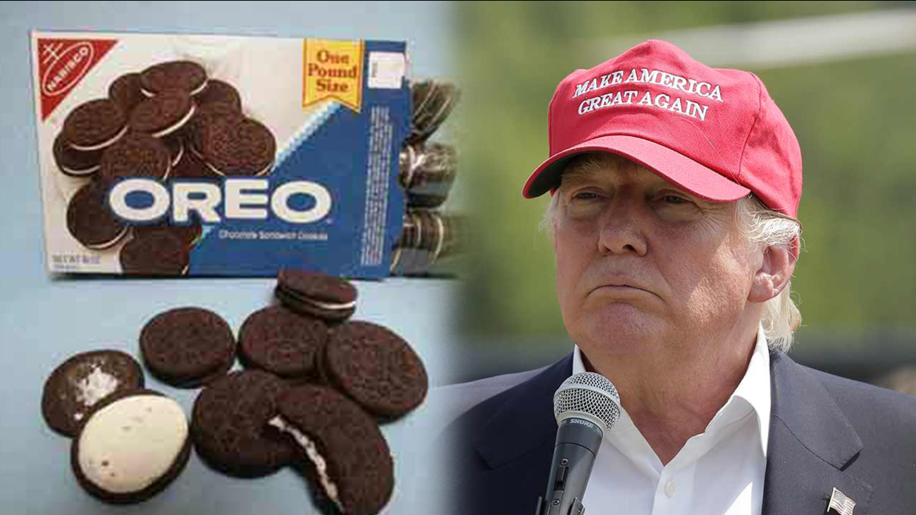 Donald Trump and Oreos