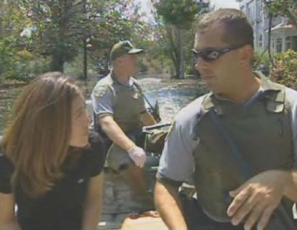 """<div class=""""meta image-caption""""><div class=""""origin-logo origin-image none""""><span>none</span></div><span class=""""caption-text"""">Jason Mouliere and Mike Murray from the Louisiana Department of Wildlife and Fisheries helped more than 100 stranded people get to safety. (WPVI Photo)</span></div>"""