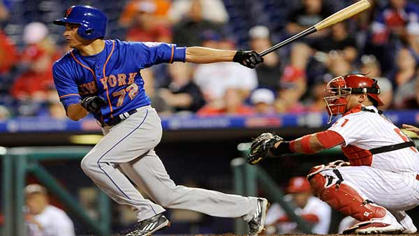Murphy leads Mets to sweep of Phillies, 9-5 in 13 innings