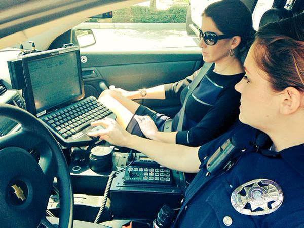 """<div class=""""meta image-caption""""><div class=""""origin-logo origin-image none""""><span>none</span></div><span class=""""caption-text"""">Natasha Barrett spent the day with a West U police officer (KTRK Photo)</span></div>"""