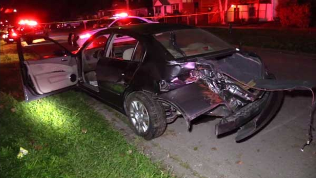 Two people were killed in a three-vehicle crash involving children in south suburban Robbins. Seven other people were injured.