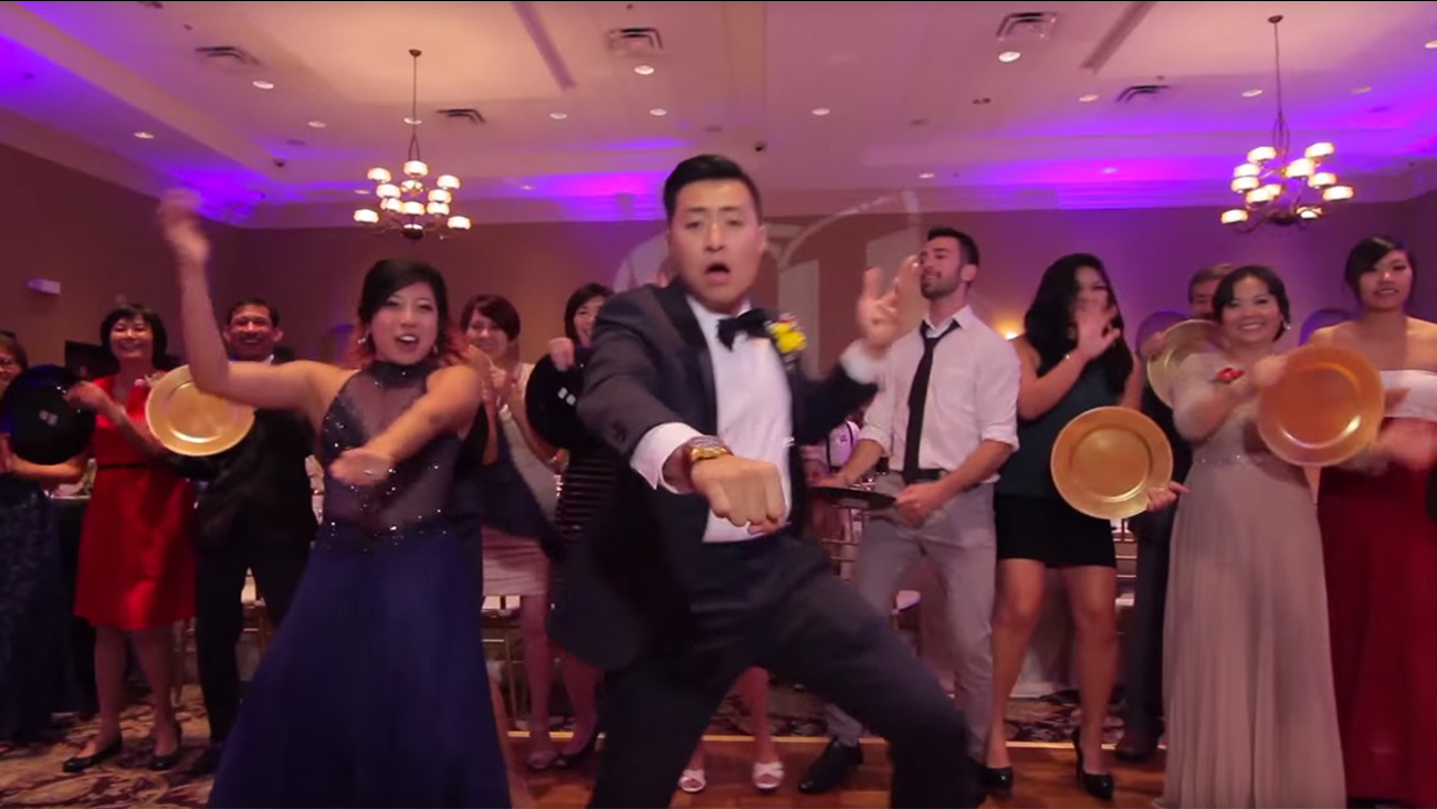 Newlywed Makes Epic Wedding Dance Video With 250 Guests 6abc
