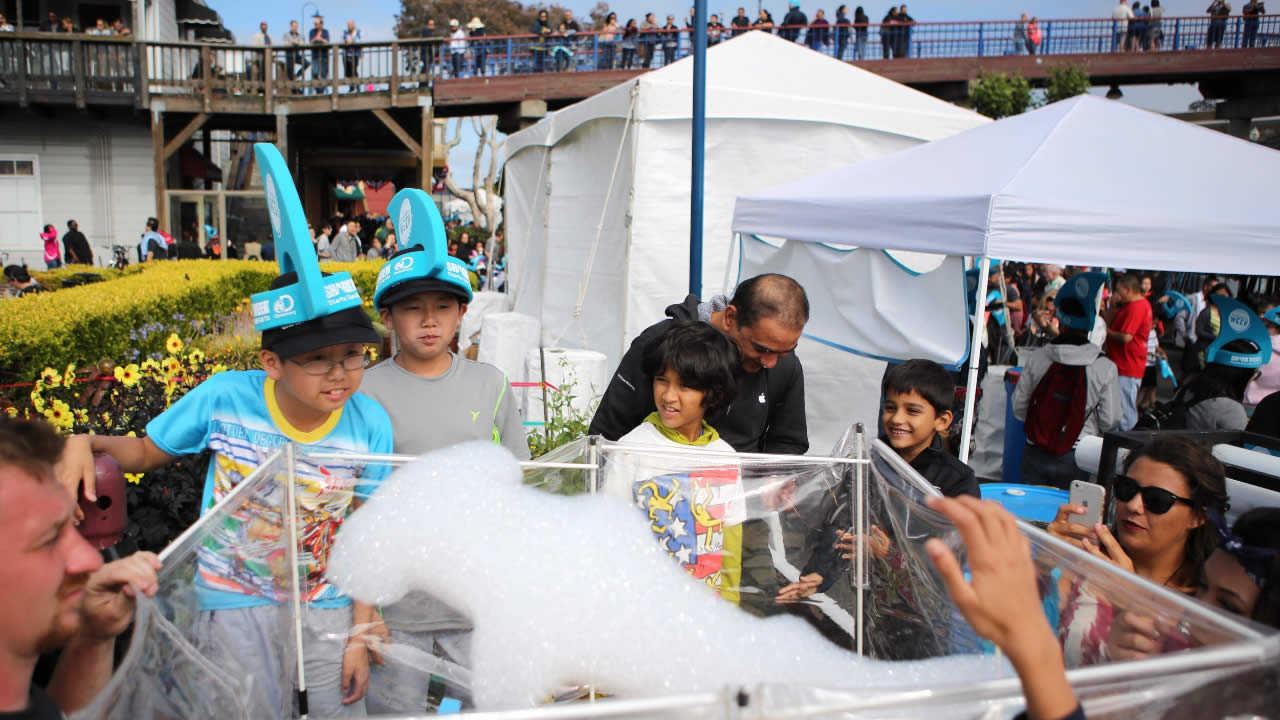 FILE: Children visit Pier 39 on Saturday, July 4, 2015, in San Francisco, CA.