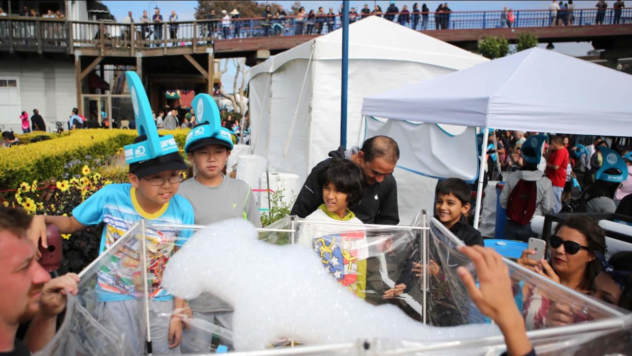 FILE: Children visit Pier 39 on Saturday, July 4, 2015, in San Francisco, CA.