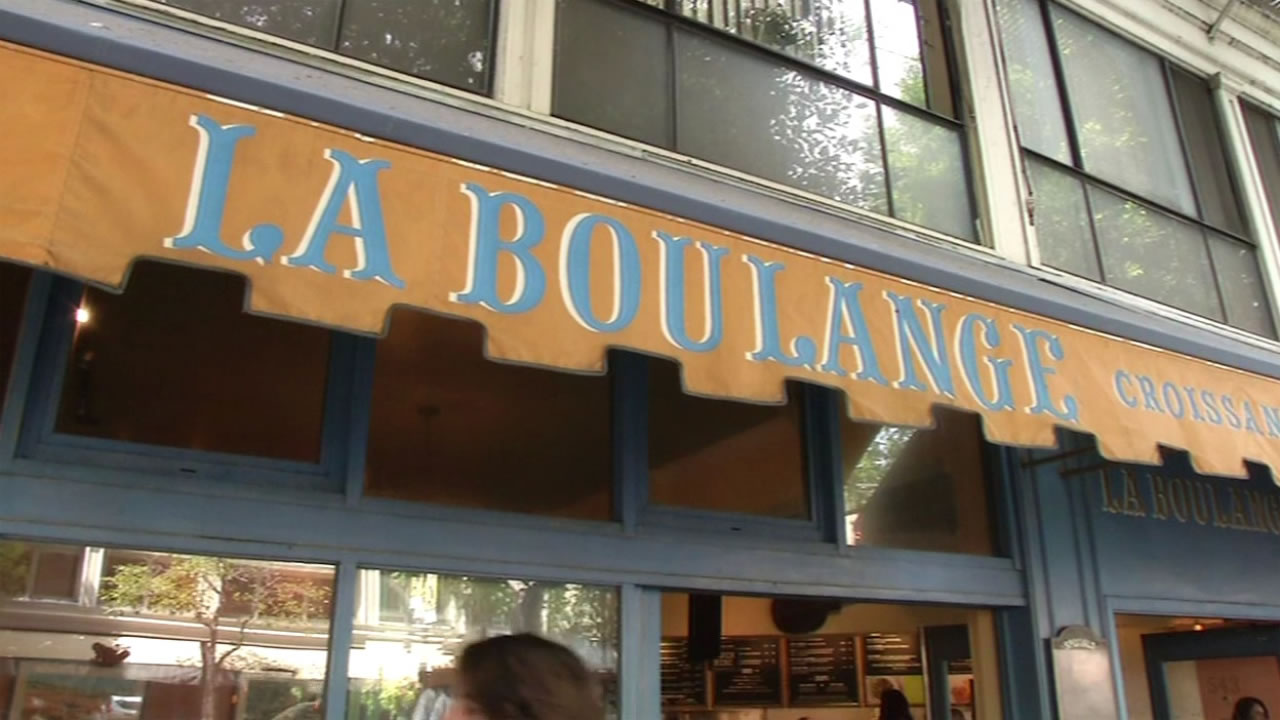 Outisde a La Boulange cafe in San FRancisco, Calif. August 28, 2015.