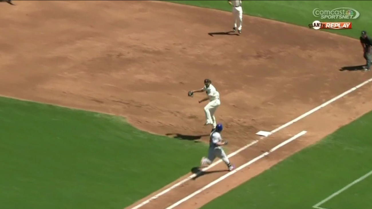 This play by Giants ace Madison Bumgarner was so graceful, the San Francisco Ballet offered him a job!