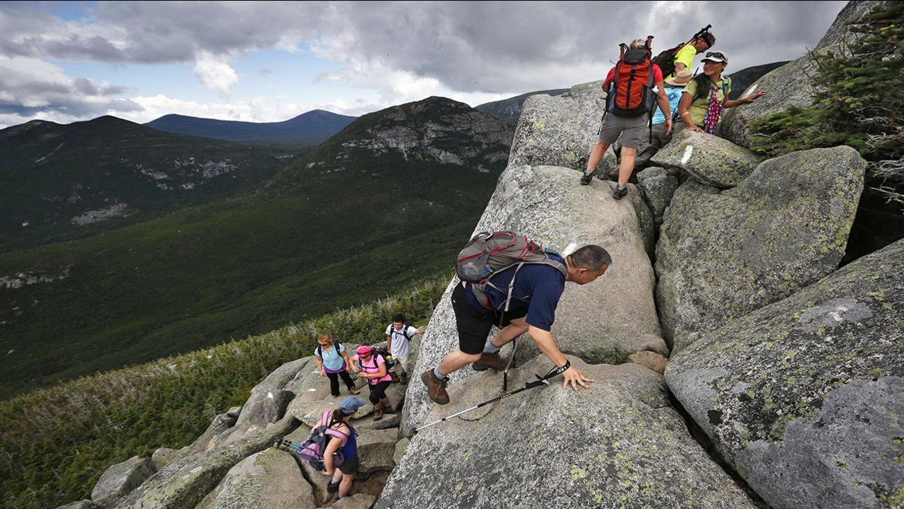 The sharp rise in the number people using the Appalachian Trail is causing headaches for officials, who say they're dealing with increasing problems along the 2,189-mile footpath.