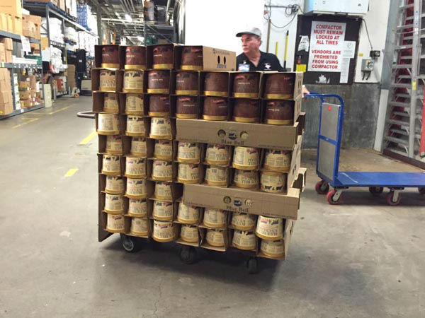 "<div class=""meta image-caption""><div class=""origin-logo origin-image none""><span>none</span></div><span class=""caption-text"">The first shipment of Blue Bell ice cream arrived at an HEB store in Brenham, TX earlier this morning. (KTRK Photo)</span></div>"