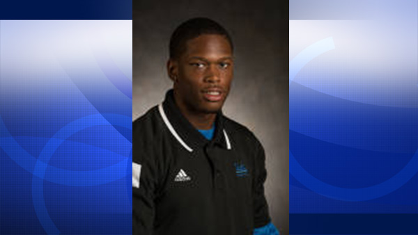 Ishmael Adams, 21, is seen in a photo posted on UCLA's website