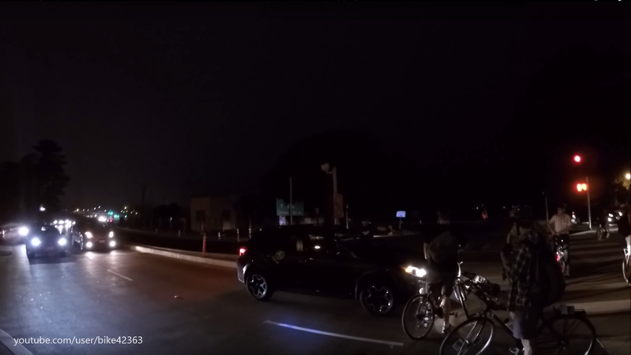An altercation between a bicyclist and a driver in San Francisco's Marina District during Critical Mass on Friday, August 28, 2015 was caught on camera.