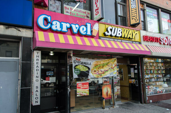 """<div class=""""meta image-caption""""><div class=""""origin-logo origin-image none""""><span>none</span></div><span class=""""caption-text"""">Carvel is located on 30th Avenue between 31st and 32nd streets in Astoria. It serves cones, sundaes and even ice cream cakes. (WABC Photo/ Mike Waterhouse)</span></div>"""