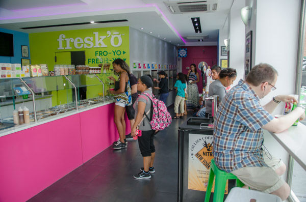 """<div class=""""meta image-caption""""><div class=""""origin-logo origin-image none""""><span>none</span></div><span class=""""caption-text"""">Despite so many different options in a small area in Astoria, each of the shops in the 'frozen yogurt district' were busy on Sunday, Aug. 30, 2015. (WABC Photo/ Mike Waterhouse)</span></div>"""