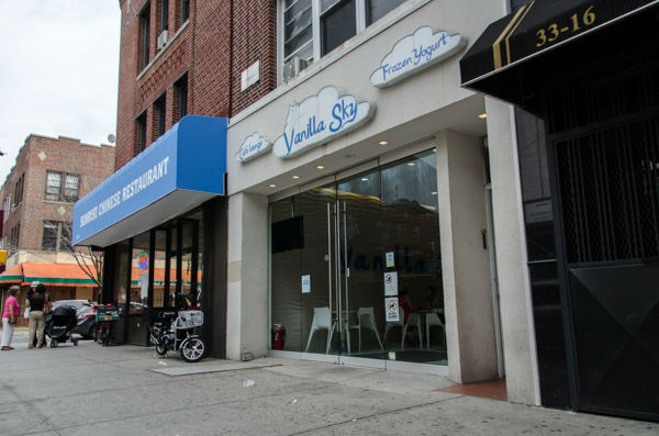"""<div class=""""meta image-caption""""><div class=""""origin-logo origin-image none""""><span>none</span></div><span class=""""caption-text"""">Vanilla Sky is located on Broadway between 33rd and 34th streets in Astoria. (WABC Photo/ Mike Waterhouse)</span></div>"""