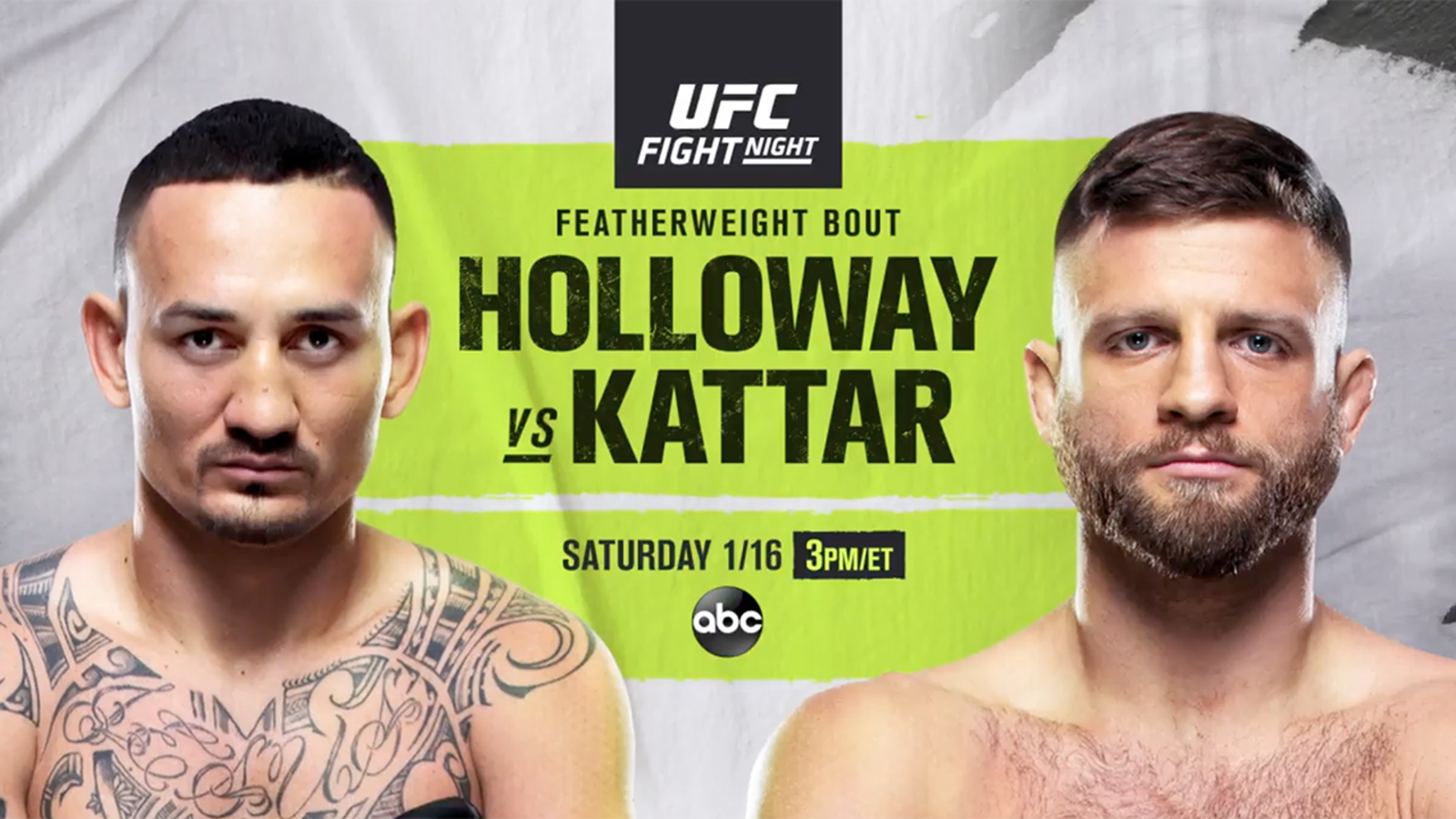 Watch UFC Fight Night : Holloway Vs. Kattar 1/16/21