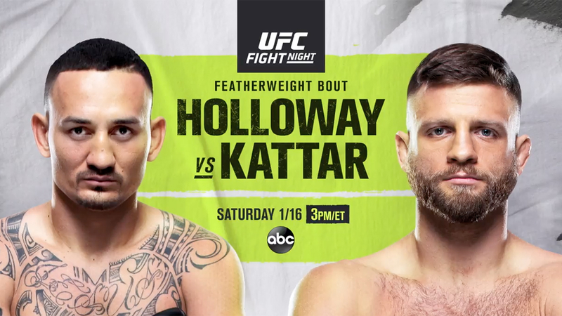 UFC Fight Night: Max Holloway vs. Calvin Kattar -- How to watch and stream, plus full analysis - ABC7 Los Angeles