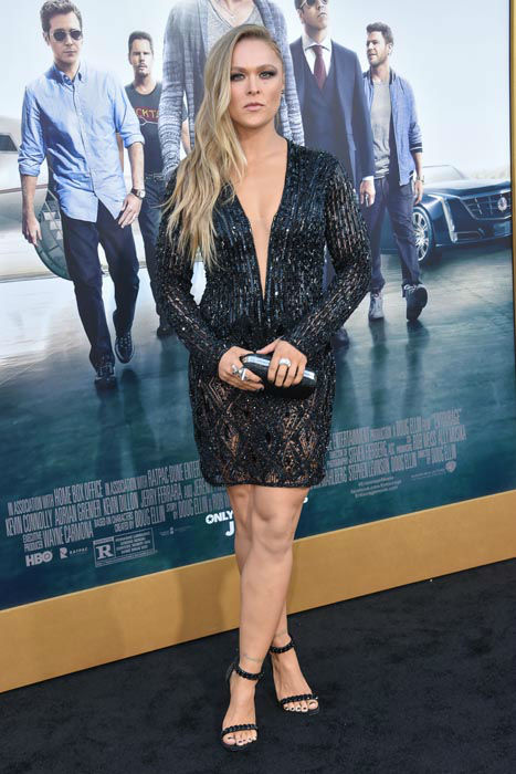 "<div class=""meta image-caption""><div class=""origin-logo origin-image none""><span>none</span></div><span class=""caption-text"">Ronda Rousey arrives at the LA Premiere Of ""Entourage"" at the Regency Village Theatre on Monday, June 1, 2015, in Los Angeles. (Photo/Rob Latour)</span></div>"