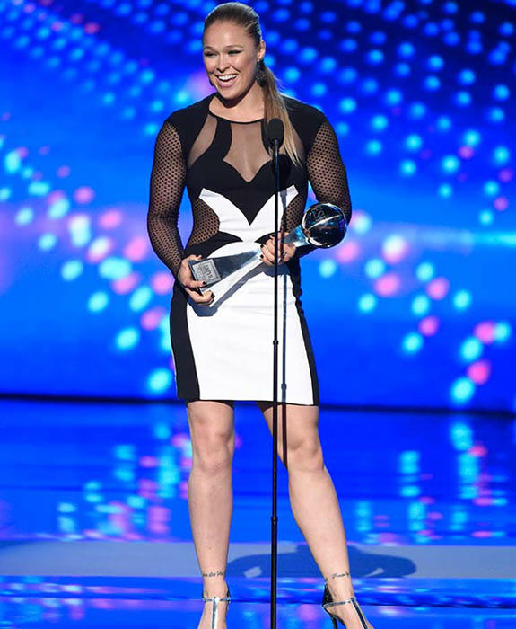 "<div class=""meta image-caption""><div class=""origin-logo origin-image none""><span>none</span></div><span class=""caption-text"">UFC Champion Ronda Rousey has accepted the invitation of a US Marine to attend the Marine Corps Ball. (AP Photo)</span></div>"