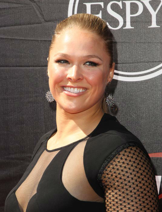 "<div class=""meta image-caption""><div class=""origin-logo origin-image none""><span>none</span></div><span class=""caption-text"">Ronda Rousey, UFC Women's Bantamweight Champion, arrives at the ESPY Awards at the Microsoft Theater on Wednesday, July 15, 2015, in Los Angeles. (Photo/Paul A. Hebert)</span></div>"