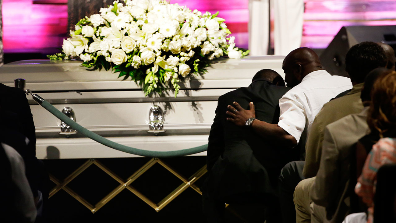 Christian Taylor funeral