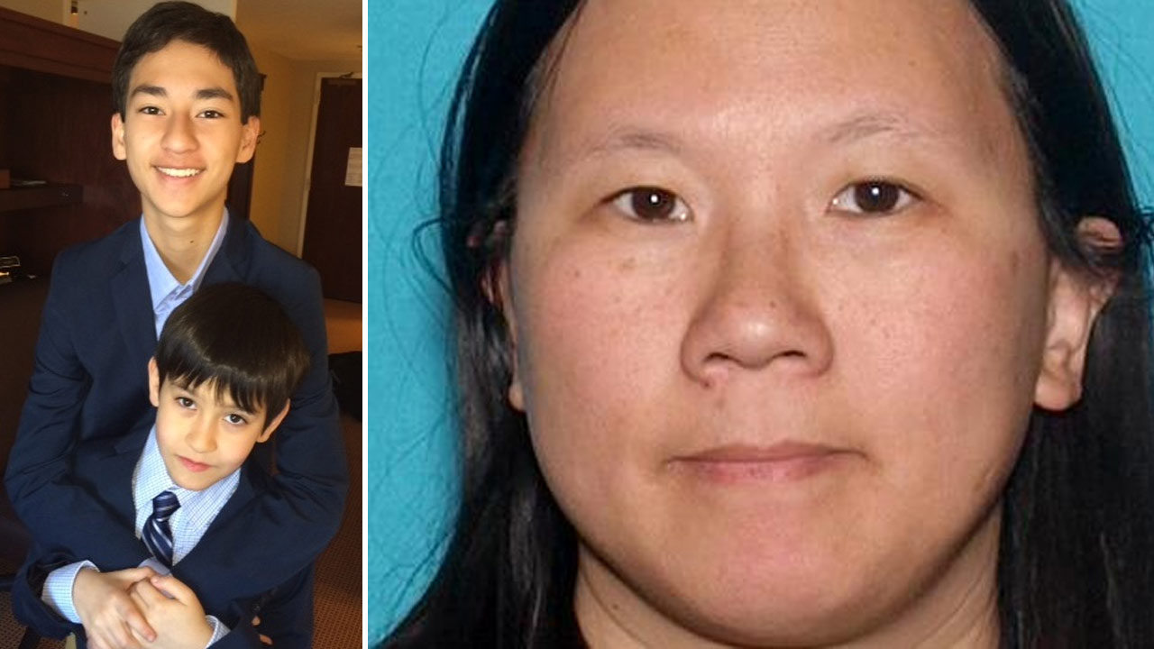 Sheriff's detectives believe Sage Cook, 14, and his brother Isaac Cook, 9, were abducted by their mother, Faye Ku, 41.