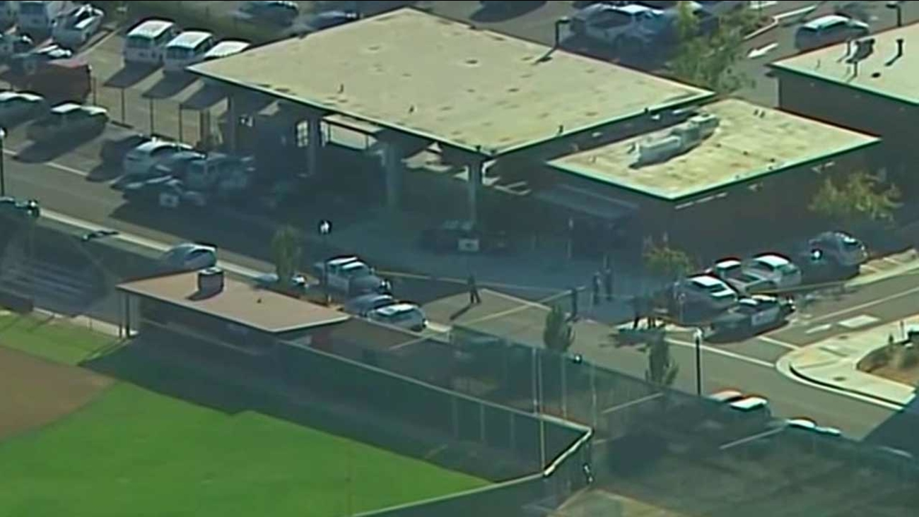 Three people were shot, one fatally, near a baseball field on the campus of Sacramento City College on Thursday, Sept. 3, 2015.