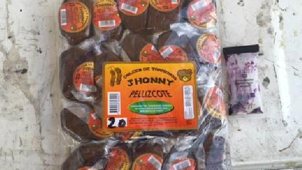 This photo shows 'Dulce de Tamarindo' candy laced with meth which was found by a Border Patrol K9 in Salton City, Calif. on Wednesday, Sept. 2, 2015.
