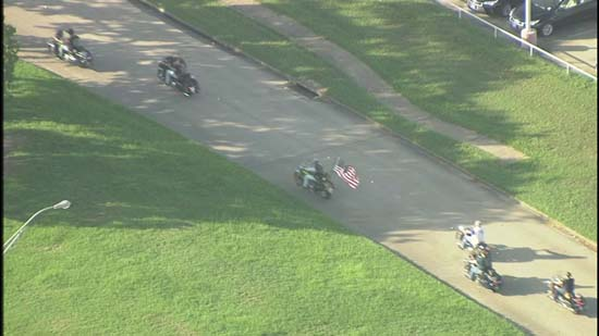 <div class='meta'><div class='origin-logo' data-origin='KTRK'></div><span class='caption-text' data-credit='KTRK'>Bikers ride in formation on their way to Deputy Darren Goforth's funeral in Houston, September 4, 2015.</span></div>