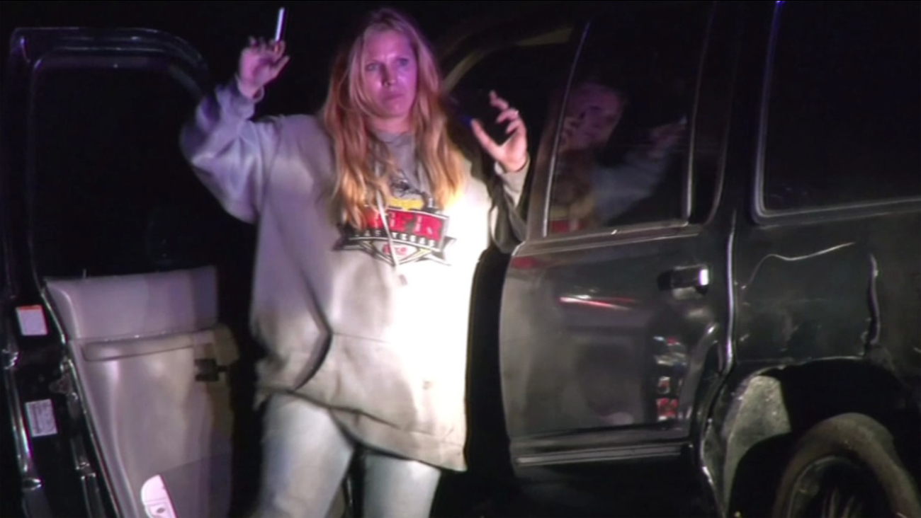 This driver was taken into custody in Sonoma County in Calif. on Thursday, September 3, 2015, after leading Sonoma County Sheriff's Deputies on a high-speed chase.