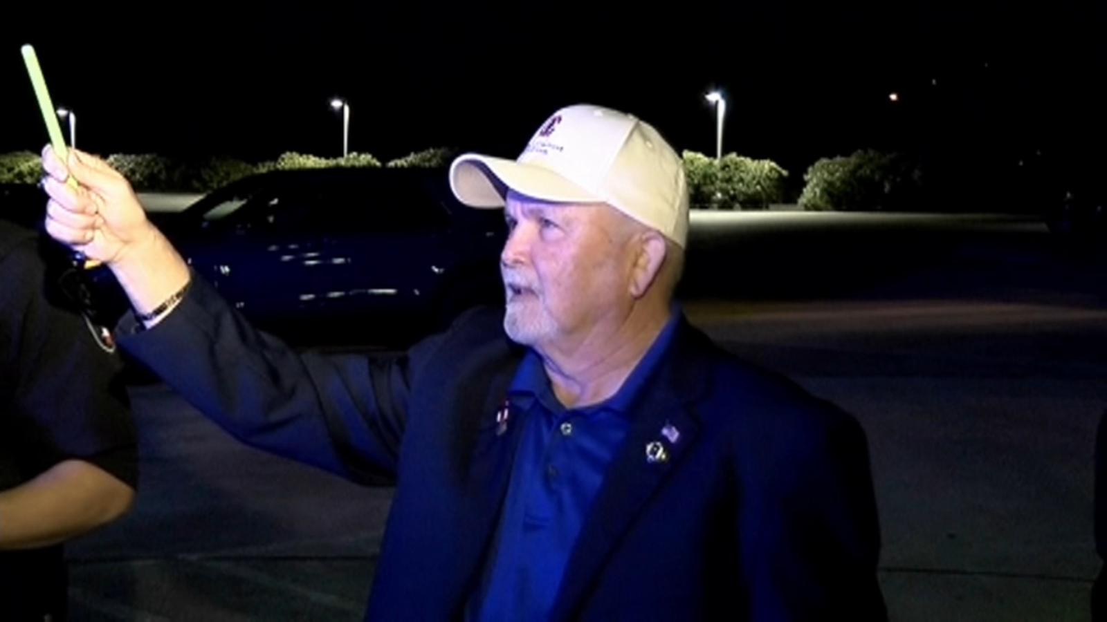 Man holds 40-day vigil outside wife's Kingwood hospital window