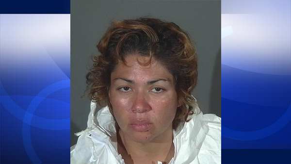 Athina Sumi Rivera, 43, is seen in this file photo released by the Covina Police Department on Monday, Sept. 7, 2015.